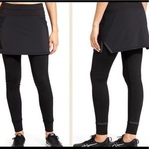 Athleta 2 in 1 Skirt Leggings - 0221